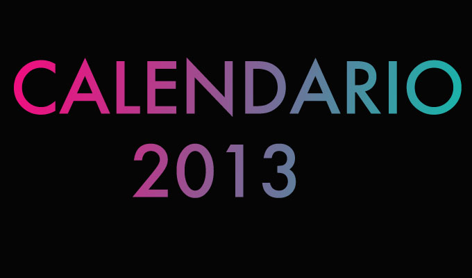 Calendario de Festivales!